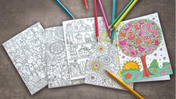 Ausmalkarten – Entspannung und Kreativität