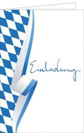 Einladungskarte, Einladung, Bayern