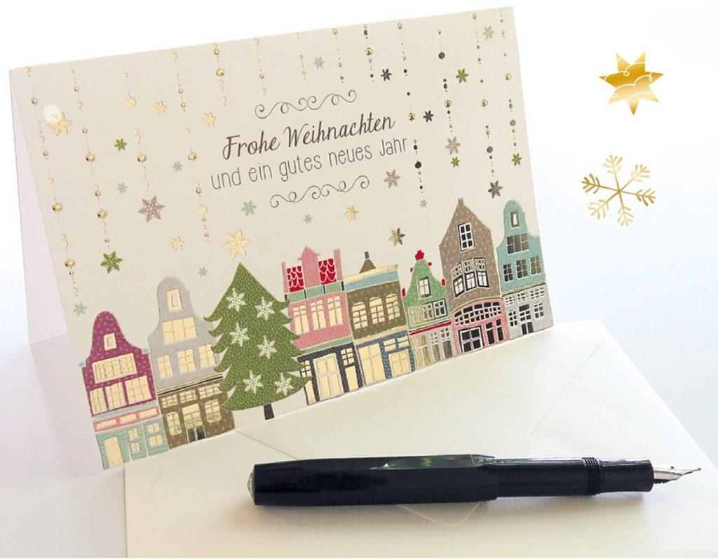 Fabulous Ausgefallene Weihnachtsgrüße: So bleiben Sie in positiver FO65