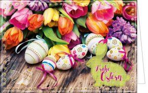 Ostern, Osterkarte, Frohe Ostern, Grußkarte