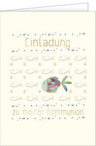 Einladung zur Kommunion, Kommunionskarte
