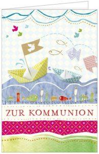 Kommunion, Kommunionskarte