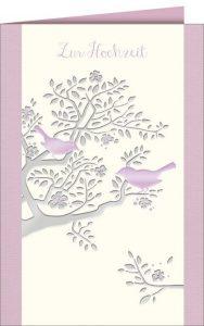 Hochzeit, Glüchwunschkarte Hochzeit, Heirat, Zur Hochzeit