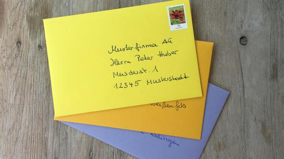 Briefe Richtig Schreiben Nach önorm : Grusskarten und briefe richtig schreiben die