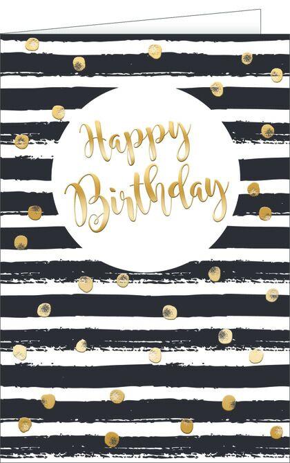 Glückwunschkarte zum Geburtstag, Geburtstagskarte