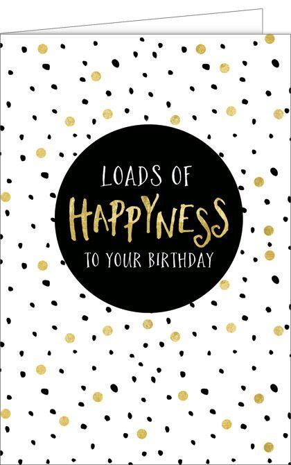 Geburtstagskarte, Glückwunschkarte zum Geburtstag