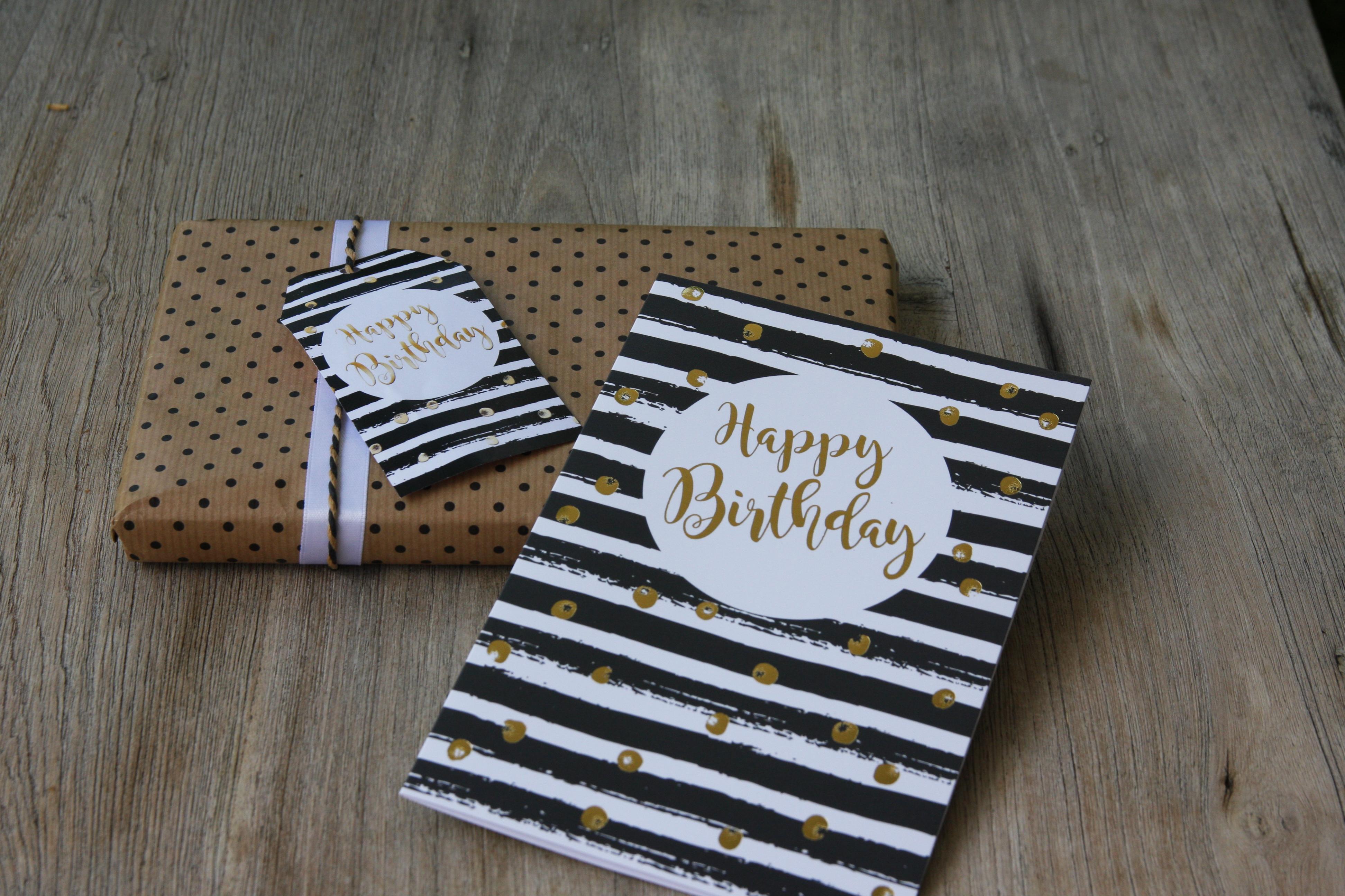 Geburtstagskarte, Glückwunschkarte zum Geburtstag, Grußkarte, Geschenkanhänger