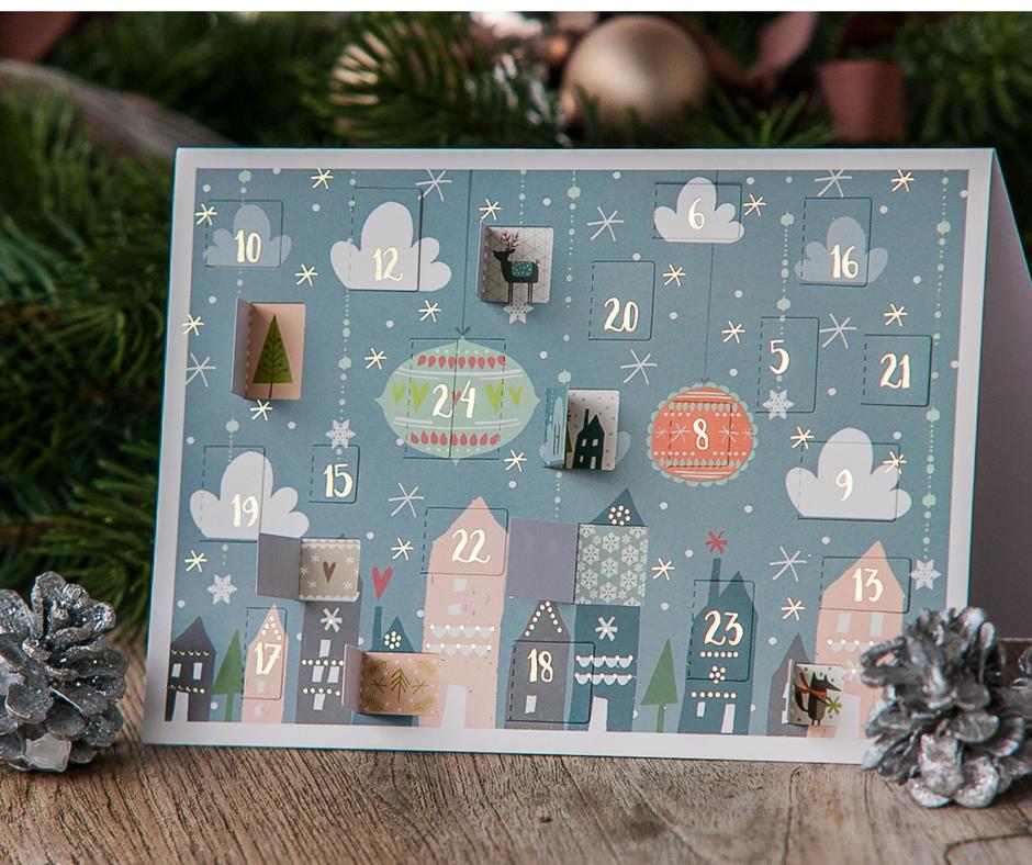 Adventskalender, Advent, Weihnachten, Weihnachtskarte