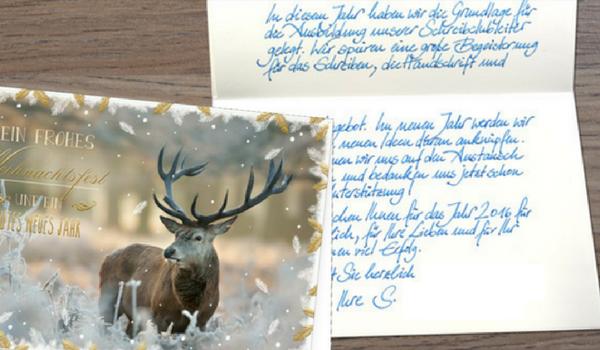 Weihnachtskarten, Grußkarten, Glückwunschkarten