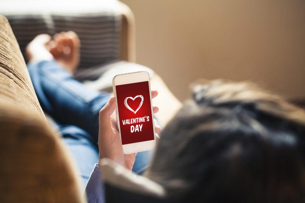 Valentinstag, Valentinstagskarte, Tag der Liebe