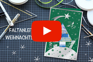 Faltanleitung, Geldschein falten, Geldgeschenk, Weihnachten, Weihnachtsbaum basteln, Weihnachtskarte