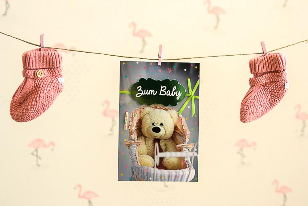 Babykarten, Glückwunschkarte Geburt, Geburtskarte, Geburt, Baby