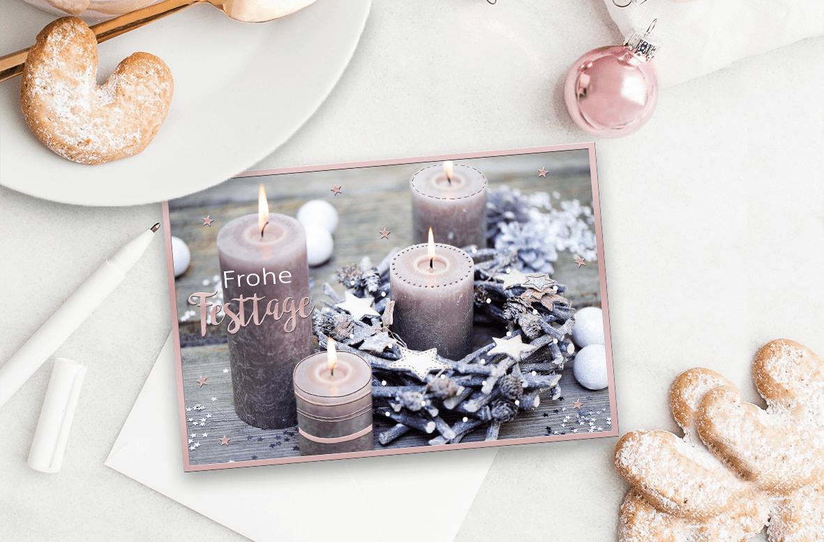 Weihnachtskarte, Weihnachtspost, Weihnachten, Kundenbindung, Weihnachtskarte schreiben