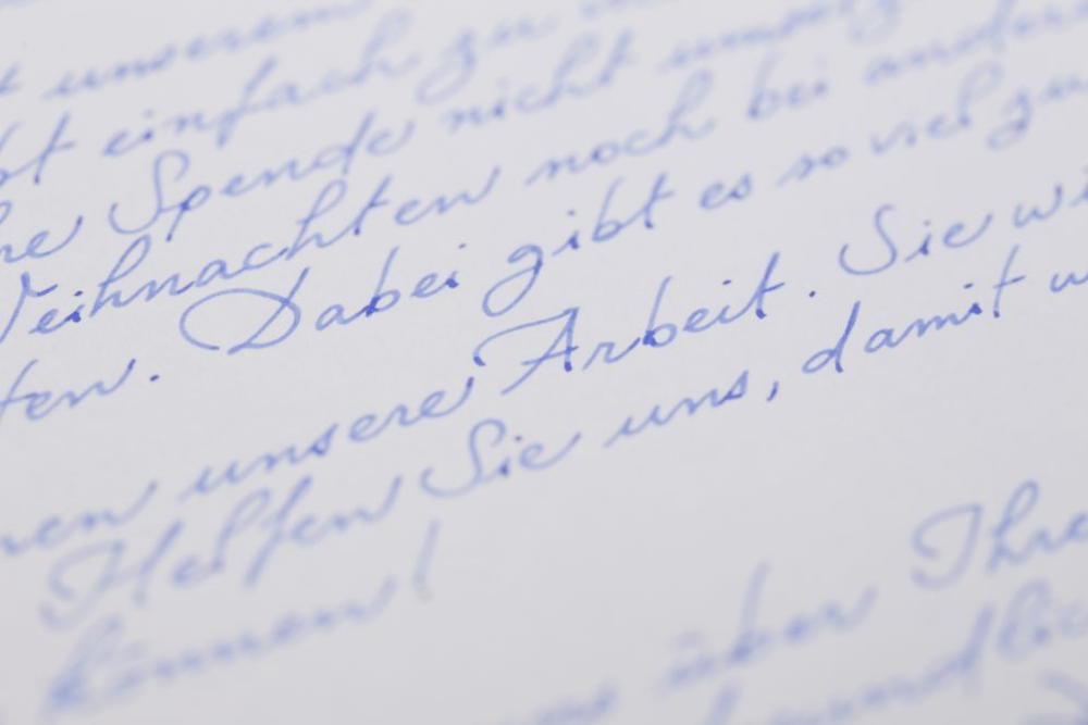 Weihnachtskarte schreiben, Handschrift, Weihnachtskarte, Weihnachten, Kundenbindung