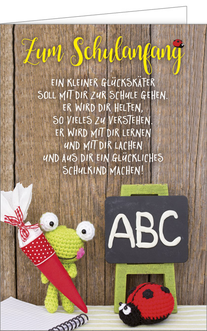Glückskäfer gedicht Das Gänseblümchen
