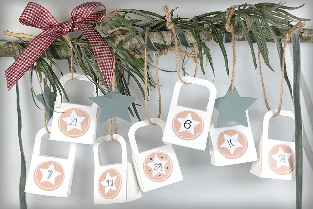 Unser Hanra Mini Paper Bags Adventskalender – und wie man ihn ganz leicht originell und weihnachtlich gestaltet